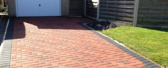 Block Paving in Brindle with Charcoal Borders 2 in Kingsway Heysham