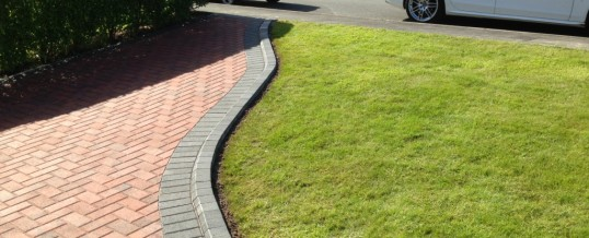 Block Paving in Brindle with Charcoal Borders in Kingsway Heysham