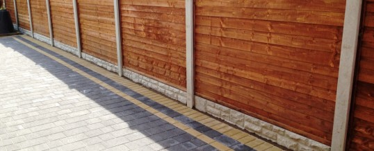 Petra Paving in Charcoal with double buff borders 2 in Halton Lancaster