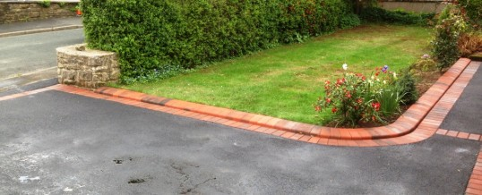 Picture Frame Tarmac with Brindle Borders 2 in Hest Bank Bolton le Sands