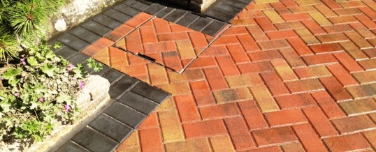 Block Paving Autumn Mix with Charcoal borders 3 Greaves Lancaster