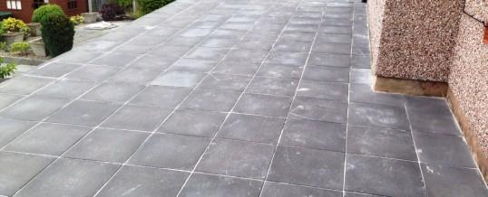 Charcoal Riven Flagstones Bowerham Lancaster