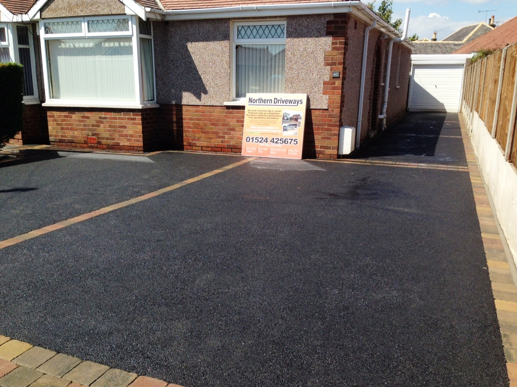 Little Eccleston Brand New Resin Bound Driveway