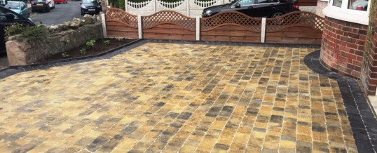 Abbey Paving  Burnt Willow Charcoal Borders Greaves Lancaster