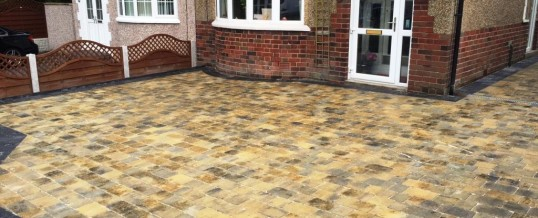 Abbey Paving  Burnt Willow Charcoal Borders Greaves Lancaster 2