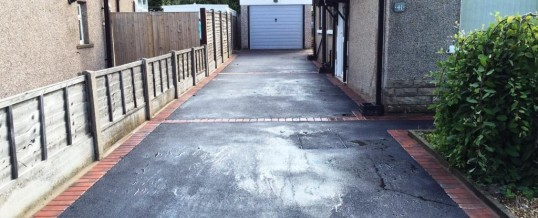 Picture Frame Tarmac With Brindle Borders … After
