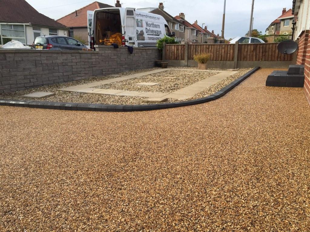 Great Eccleston Attractive Resin Bound Driveway