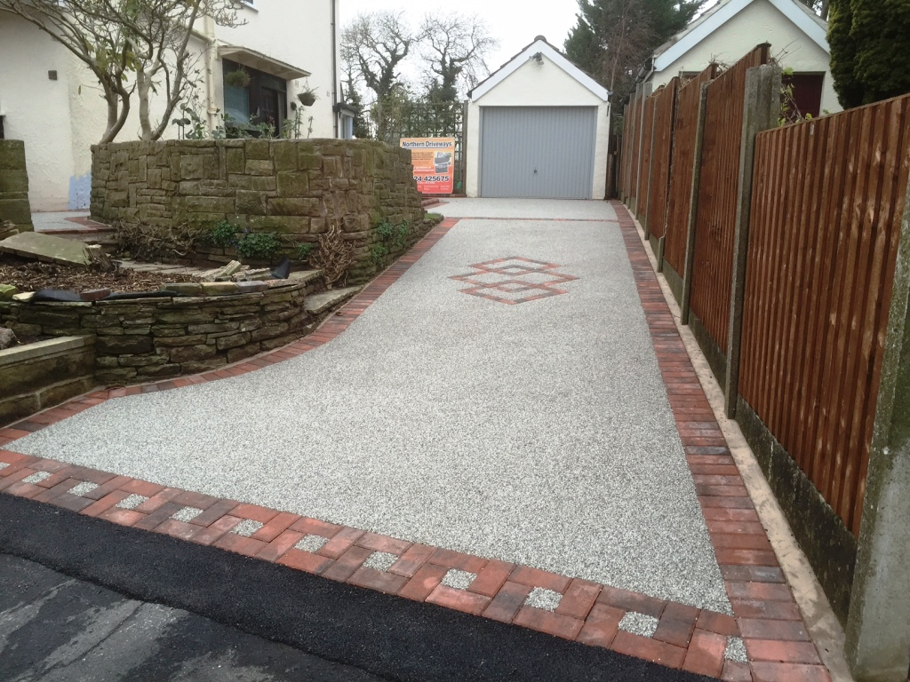 Attractive Resin Bound Driveway Great Eccleston