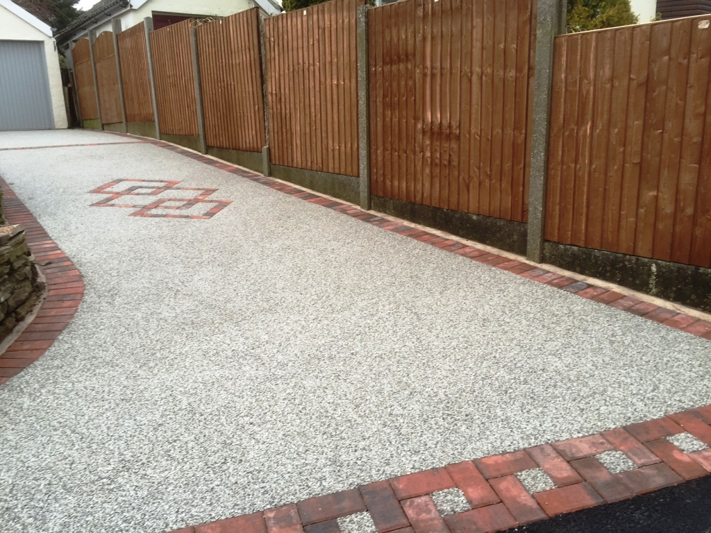 Blackpool New Resin Bound Driveway