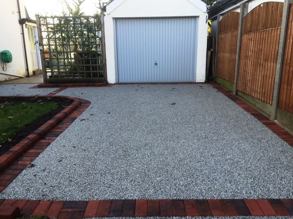 Great Eccleston Modern Resin Bound Driveway